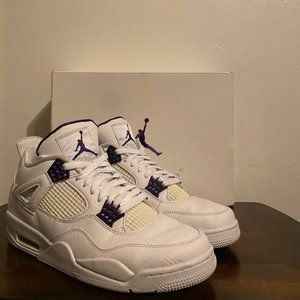 Nike Air Jordan 4 Retro 'Purple Metallic